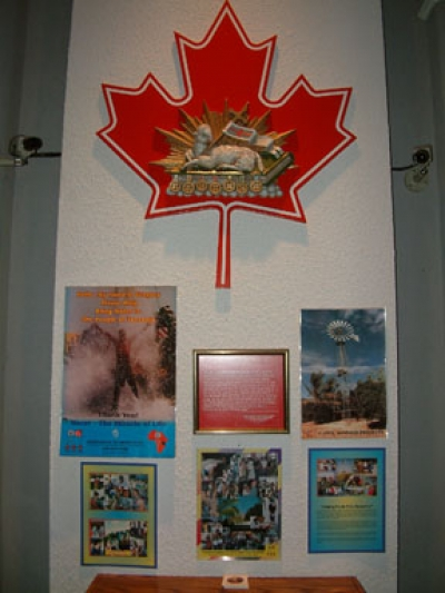 Water Project Display in the Adoration Chapel.jpg